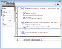 Properties, Textual and Validator views running on Windows 7